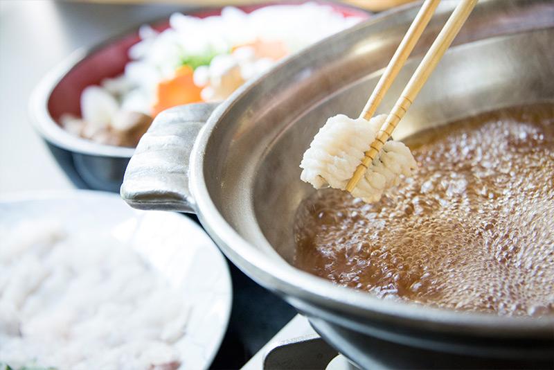 淡路島の鱧すき鍋